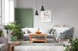 Interior of beautiful modern apartment