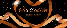 Invitation Members Only Letter...