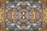 Colorful patterns of wood for the background. - 335763627