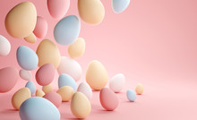 Pastel Colour Easter Eggs Back...