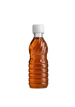 Fish Sauce In Bottle On Isolated White Background