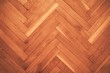 canvas print picture - High angle view of a hardwood floor under the lights in a house