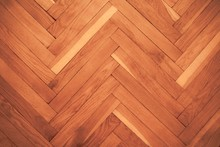 High Angle View Of A Hardwood ...