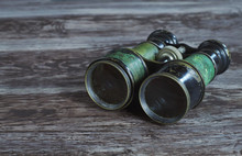 Α Pair Of Vintage Military Bi...
