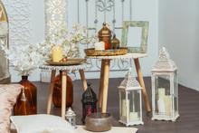 Oriental Lanterns And Interior...