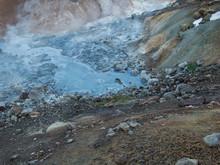 Ein Schlammtopf Im Geothermale...