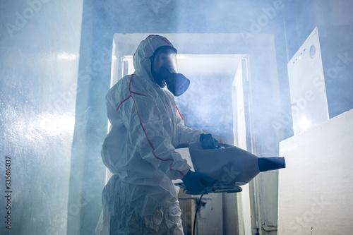 World pandemic COVID-19 Wallpaper Mural