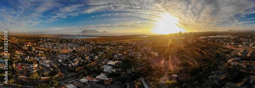 Obraz Cape Town Sun Set Drone Photos - fototapety do salonu