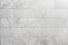 Subway Tile Carrara Marble Wal...