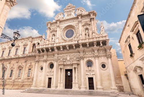 Vászonkép Santa Croce - Lecce - Barocco leccese