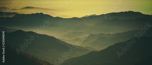 Obraz na płótnie Sierra Nevada Landscape
