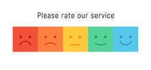 Smiley Rate Scale Emotion Emoj...