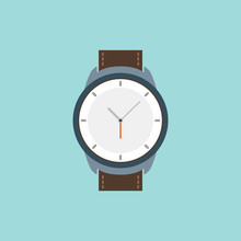 Vector Wrist Watch Icon. Wrist...