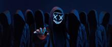 Hackers Army. Dangerous Hooded...