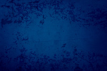 Blue Background With Grunge Te...
