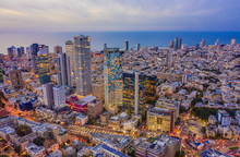 Tel Aviv City Center, Israel, ...