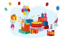 Giant Birthday Present Boxes A...