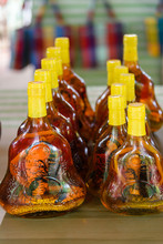 Bottles Of Rice Wine Filled Wi...