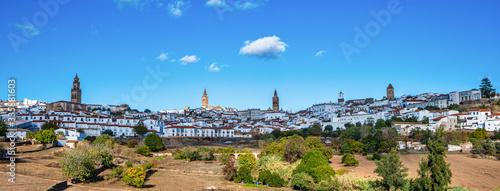 Jerez de los Caballeros, City at Badajoz, Extremadura in Spain
