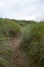 Sand Dünen Am Ufer Der Oldsho...