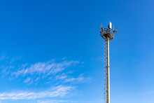 Communications Tower With Ante...