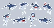 Ocean Shark Mascot. Happy Shar...