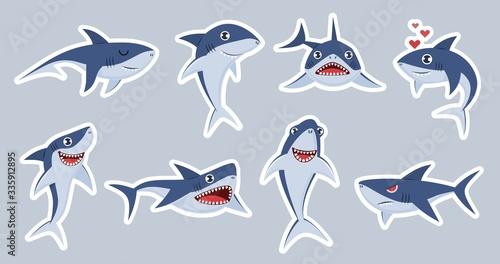 Fotografía Ocean shark mascot