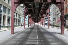 Nearly Deserted Wabash Avenue ...