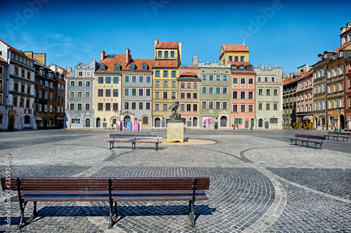 Fototapeta Warsaw During the lockdown obraz