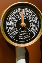 Reproduction Of Titanic's Engine Telegraph Wide Shot