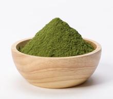Matcha Green Tea Powder In Bow...