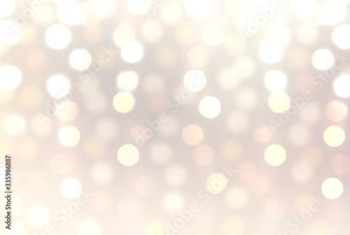 Fototapety, obrazy: Glitter pastel holiday abstract illustration. Bokeh blur pattern.