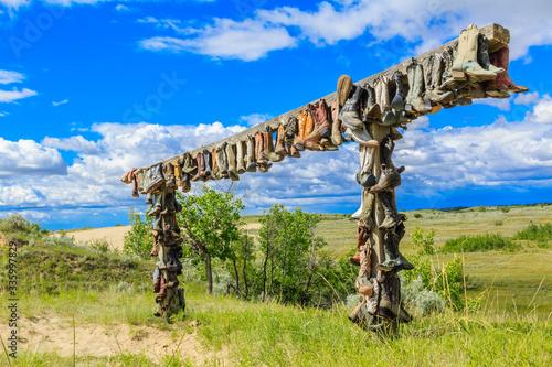 Valokuva Hanging Cowboy Boots
