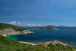 view of the bay of nha trang, vietnam, asia