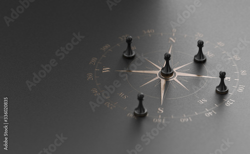 Fotomural Strategic Business Advice Concept