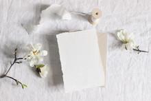 Wedding Stationery Mock-up Sce...
