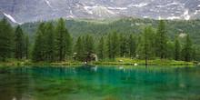 Lago Blu, Valtournanche