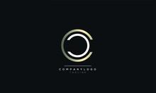 CC C Alphabet Abstract Initial Letter Logo Design Vector Template