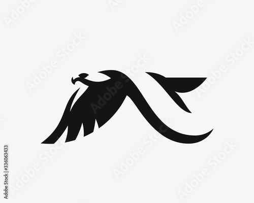 Eagle logo Wallpaper Mural