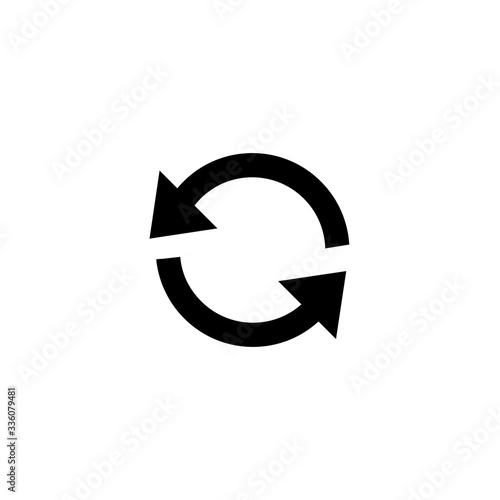 Fototapeta refresh arrow icon