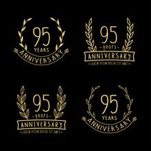 95 Years Anniversary Logo Coll...