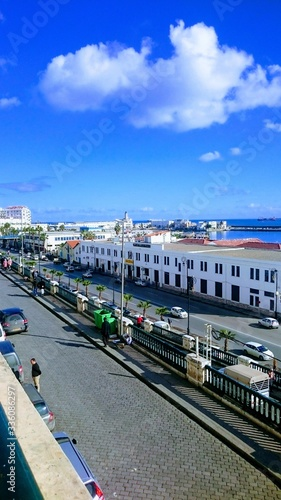 Fényképezés Vue sur le port d'Alger, Algérie
