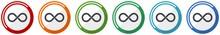 Infinity Icon Set, Eternity, I...