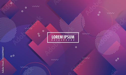 Fototapeta Dynamic background texture with modern shapes concept with warm color gradations Perfect for Wallpaper, Textile, Web, cover, Backgrounds, greeting cards etc. obraz