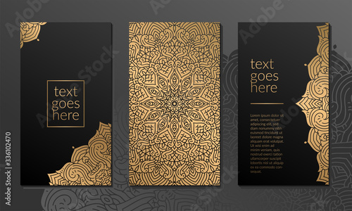 Luxury ornamental mandala background with arabic islamic east pattern style prem Canvas Print