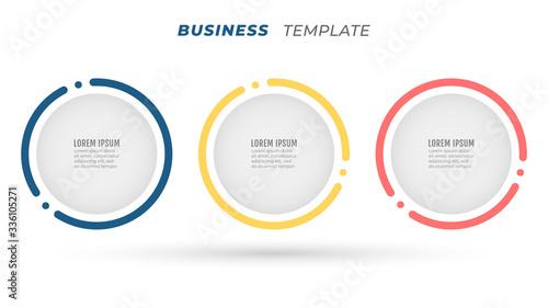 Business Infographics Wallpaper Mural