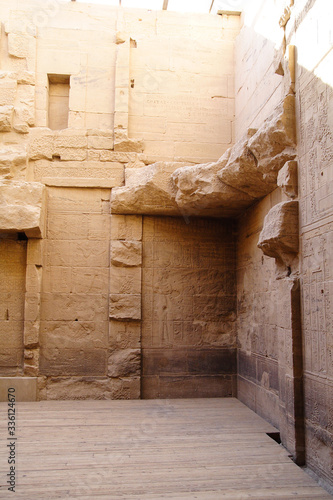 Ancient Phile Temple in Egypt Fototapet