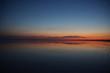 sunset over the salt lake Elton