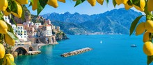Small Town Atrani On Amalfi Co...