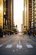 Sunset of Philly During Coronavirus Pandemic